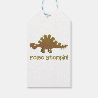 Paleo Stompin'! Stegosaurus Gift Tag