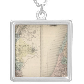 Palestine ancient silver plated necklace