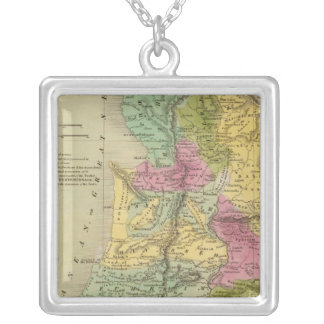 Palestine, or the Holy Land Silver Plated Necklace
