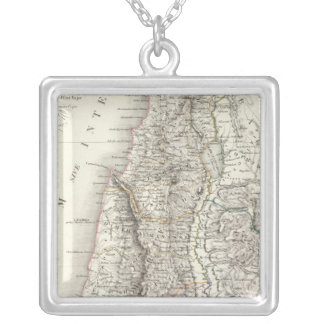 Palestine ou Terre Sainte - The Holy Land Silver Plated Necklace