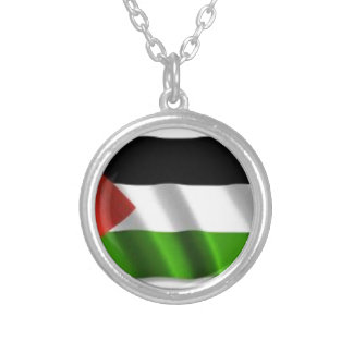 Palestine Silver Plated Necklace