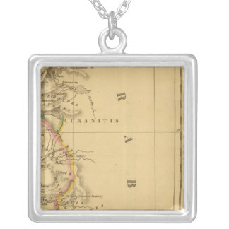 Palestine, the Kingdom of the Israelites Silver Plated Necklace
