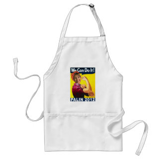 Palin 2012 Rosie the Riveter Poster Standard Apron