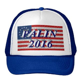 PALIN 2016 Cap, Blue 3D, Betsy Ross Cap