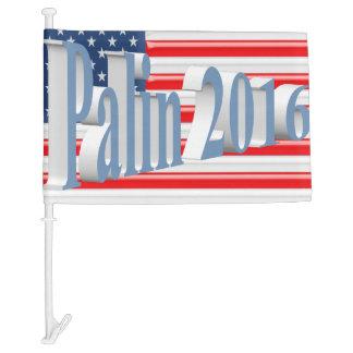 PALIN 2016 Car Flags, Powder Blue 3D, Old Glory Car Flag