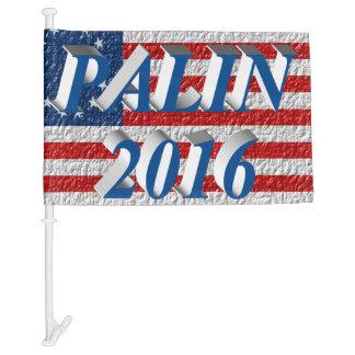 PALIN 2016 Car Flags, Sea Blue 3D, Betsy Ross Car Flag