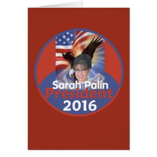 PALIN 2016 CARD