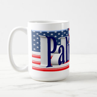 PALIN 2016 Mug, Blue 3D, Old Glory Coffee Mug