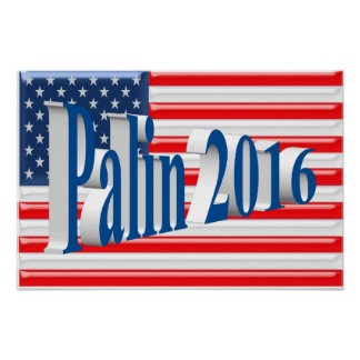 PALIN 2016 Poster, Sea Blue 3D, Old Glory Poster