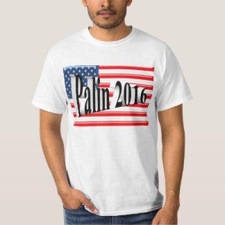 PALIN 2016 Shirt, Black 3D, Old Glory T-Shirt
