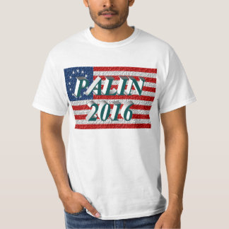 PALIN 2016 Shirt, Blue-Green 3D, Betsy Ross T-Shirt