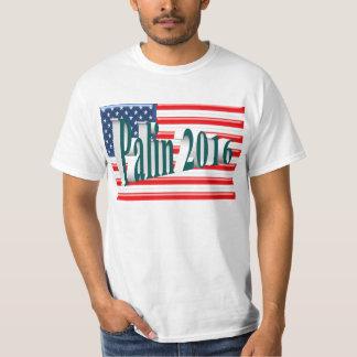 PALIN 2016 Shirt, Blue-Green 3D, Old Glory T-Shirt