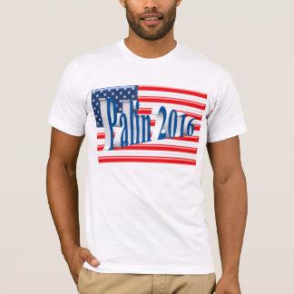 PALIN 2016 Shirt, Sea Blue 3D, Old Glory T-Shirt