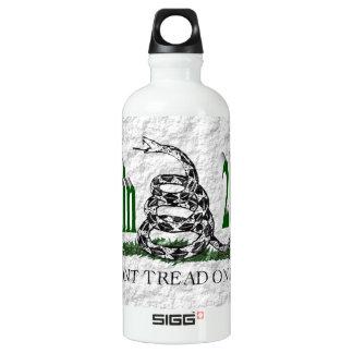 PALIN 2016 Water Bottle, Green 3D,White Gadsden SIGG Traveller 0.6L Water Bottle