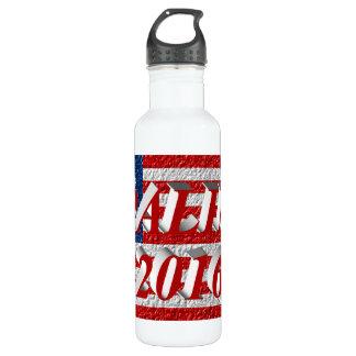 PALIN 2016 Water Bottle, Light Red 3D, Betsy Ross 710 Ml Water Bottle