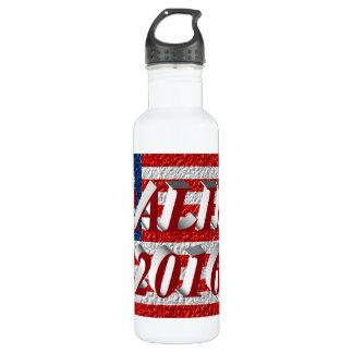 PALIN 2016 Water Bottle, Red 3D, Betsy Ross 710 Ml Water Bottle