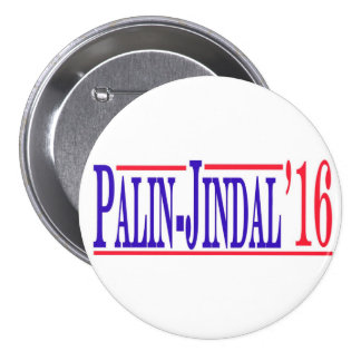 Palin-Jindal 2016! 7.5 Cm Round Badge
