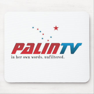 PalinTV Mouse Mat - Basic Logo