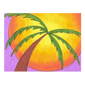 Palm in the Sun Post Card