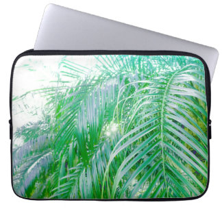 palm leaves computer sleeve