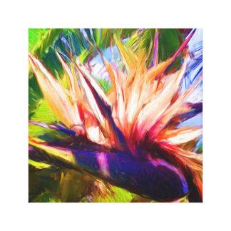 Palm Painting 02 Canvas Print