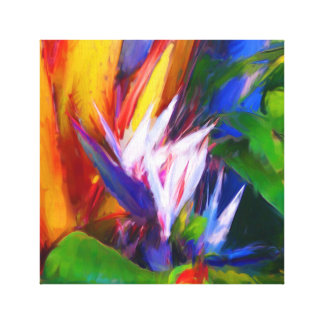 Palm Painting 04 Canvas Print
