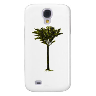 Palm Tree 2 Yellow The MUSEUM Zazzle Gifts Galaxy S4 Case