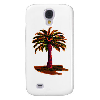 Palm Tree Orange The MUSEUM Zazzle Gifts Galaxy S4 Covers