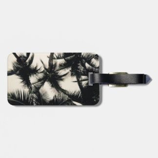 Palm Tree Photograph Luggage Tag