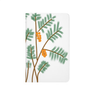Palm tree pocket journal
