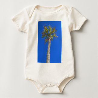 Palm Tree & Sunny Blue Sky Baby Bodysuit