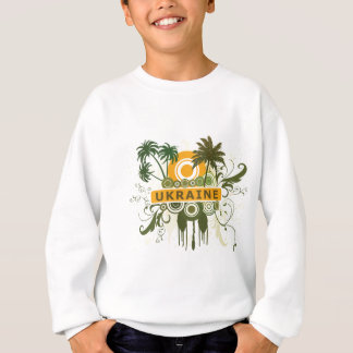 Palm Tree Ukraine Sweatshirt