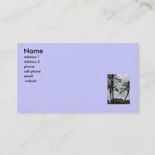 Palm tree business cards zazzle nz palm trees business card colourmoves