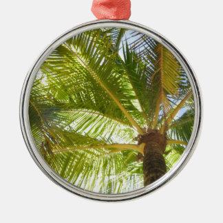 Palm Trees Christmas Ornament