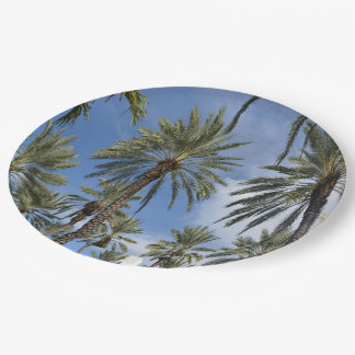Palms 9 Inch Paper Plate