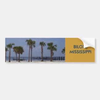 Palms on a Beach Bumper Sticker