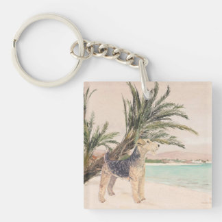 Palmy Beach Key Ring