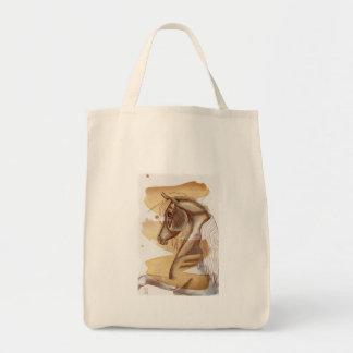 Palomino Horse On Gold Watercolor Wash Tote Bag
