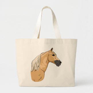 Palomino Tennessee Walking Horse 3 Canvas Bags