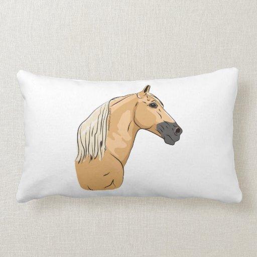 Palomino Tennessee Walking Horse 3 Throw Pillows