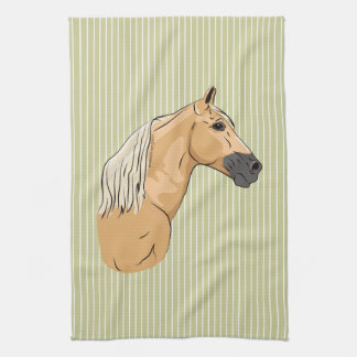 Palomino Tennessee Walking Horse 3 Hand Towels