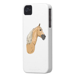 Palomino Tennessee Walking Horse 3 iPhone 4 Covers