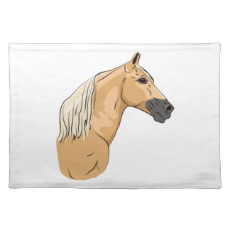 Palomino Tennessee Walking Horse 3 Placemats