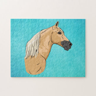 Palomino Tennessee Walking Horse 3 Jigsaw Puzzle
