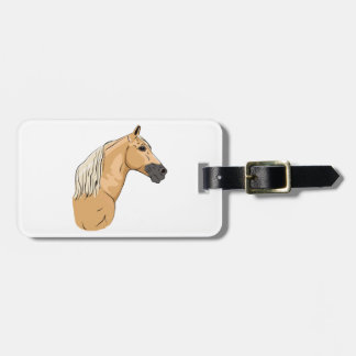 Palomino Tennessee Walking Horse 3 Tag For Luggage