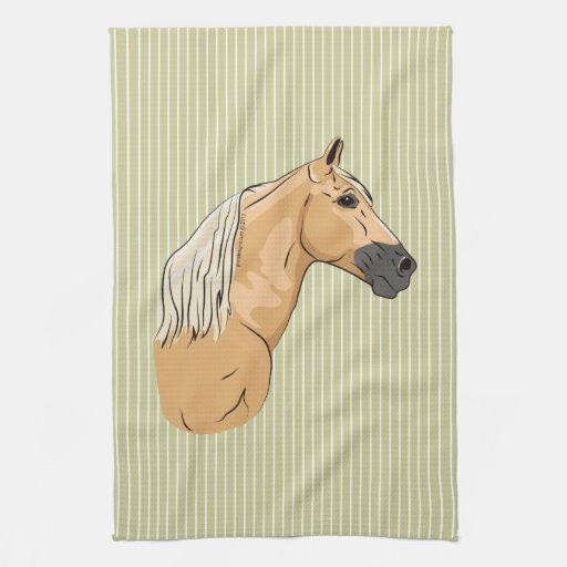 Palomino Tennessee Walking Horse 3 Kitchen Towels