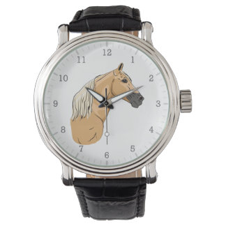 Palomino Tennessee Walking Horse 3 Wrist Watches