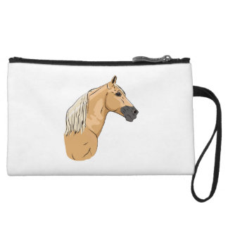 Palomino Tennessee Walking Horse 3 Wristlet Purse