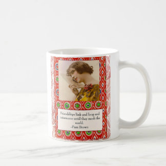 Pam Brown Friendship Quote Mug