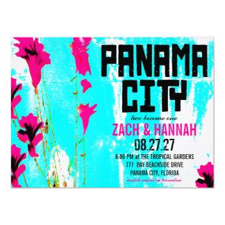 PANAMA CITY DESTINATION INVITATION